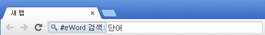 Chrome 주소창 검색 (2)