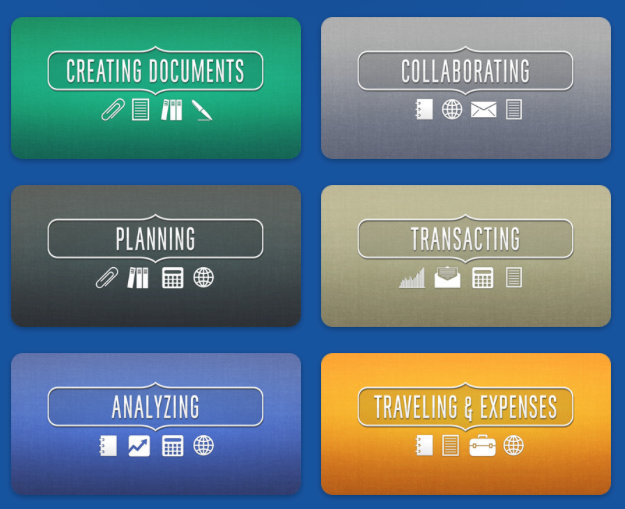 """""""Explore our handpicked selection of apps designed to make complex work tasks simple."""""""