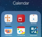 Calendar apps