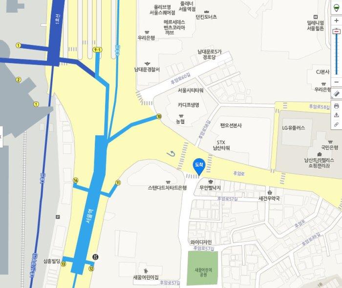 서울 용산구 동자동 1-25