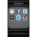 페이스북 관련앱들(이 폴더 정리하다가 다른것도 해버렸다.)